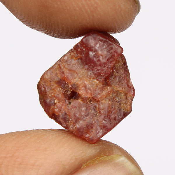 5.50 Carat A Grade Red Spinel Rough Gem, Natural Red Spinel Stone, Egl Certified Gemstone Healing Crystal Mineral Specimen Stone