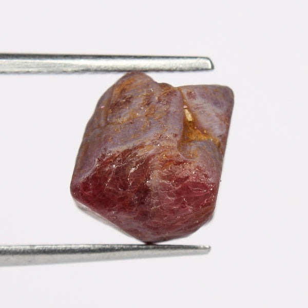 02.00 Carat Red Color Spinel Rough Gem, Natural Red Spinel Stone, Egl Certified Gemstone Healing Crystal Mineral Specimen Stone
