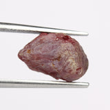 4.00 Carat Rough Natural Uncut Spinel Gemstone, Raw Red Spinel Stone, Egl Certified Rough Spinel Gem, Raw Loose Stone