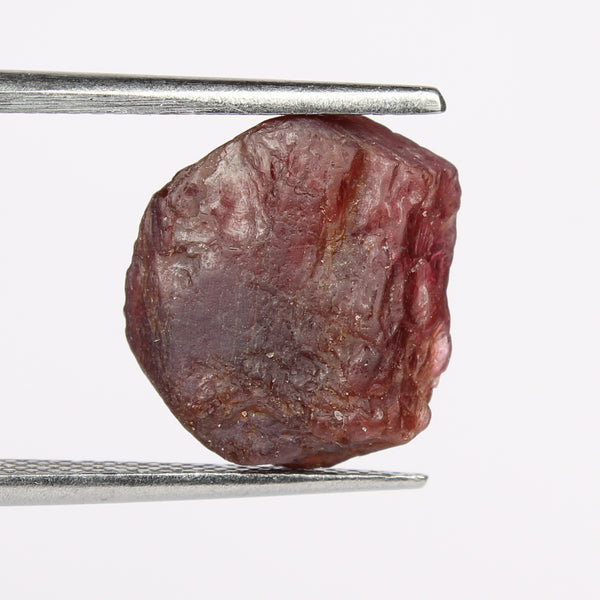 7.00 Carat Natural Red Spinel Stone, Uncut and Natural Red Spinel Crystal, Egl Certified Rough Spinel Red Loose Gemstone for Jewelry Making