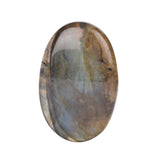25 To 50 Carat Labradorite Loose Stone, Top Quality Labradorite Oval Shape Stone Best For Silver and Wire wrap Jewelry