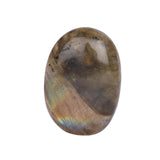 Natural Oval Cabochon Shape Labradorite Gem, Certified Bi-Color Labradorite Loose Gemstone for Making Ring, 25 to 45 Carat Available