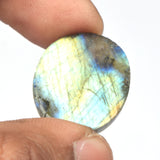 Beautiful Labradorite Stone, Oval Shape Cabochon Loose Gemstone, Certified Natural Labradorite loose Stone for Stone Sizes-20 to 50 Carat