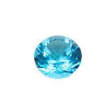 10 To 30 Cts Blue Mystic Topaz Gemstone, Top Quality Blue Mystic Topaz Round Cut Gemstone, Lab Created Mystic Topaz for Jewelry Making