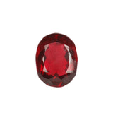 AAA Lab Created Brazilian Red Topaz Loose Gemstone, Oval Shape Faceted Good Quality Stone for Making Jewelry, Sizes-30 to 60 Carat