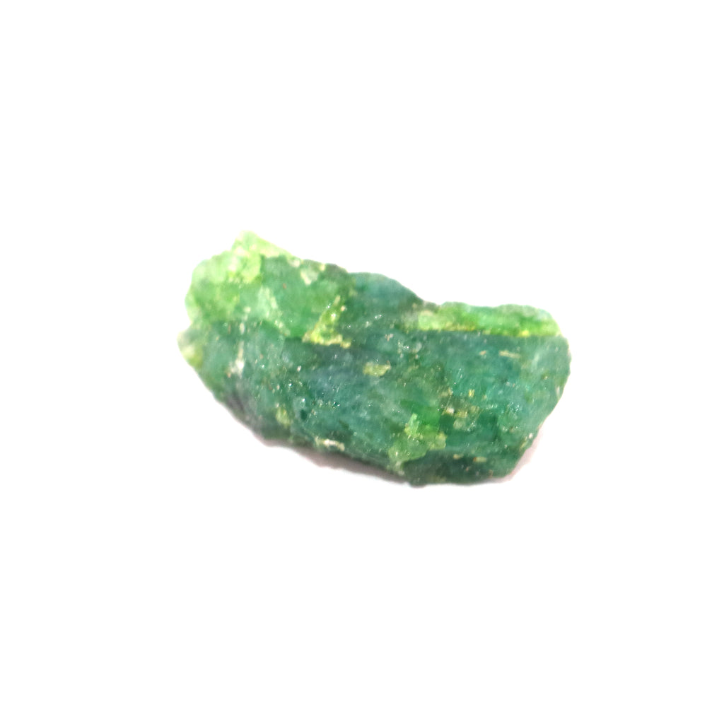 Untreated Raw Rough Green Emerald 42.50 Ct Egl Certified Unheated Healing Crystal Green Emerald Gem