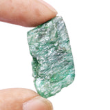 Untreated Raw Rough Green Emerald 40.00 Ct Egl Certified Unheated Healing Crystal Green Emerald Gem
