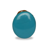 Certified 100% Natural Blue Turquoise Loose Gemstone 51.00 Ct. Fine Oval Cabochon Shape Blue Turquoise Gemstone For Jewelry Making LN-278