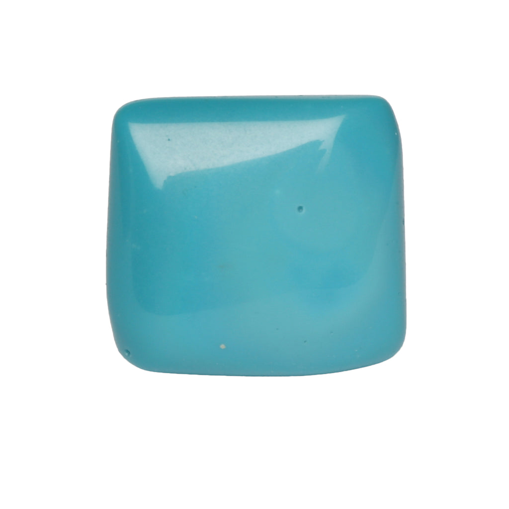 Natural Emerald Cabochon Blue Turquoise Gemstone 38.50 Ct. Certified Blue Turquoise Gemstone For Jewelry Making LN-288