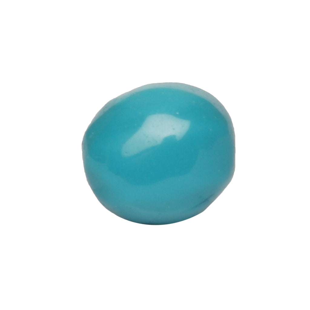 Loose Natural Oval Cabochon Blue Turquoise Gemstone 15.00 Ct. Certified Blue Turquoise Gemstone For Jewelry Making LN-338