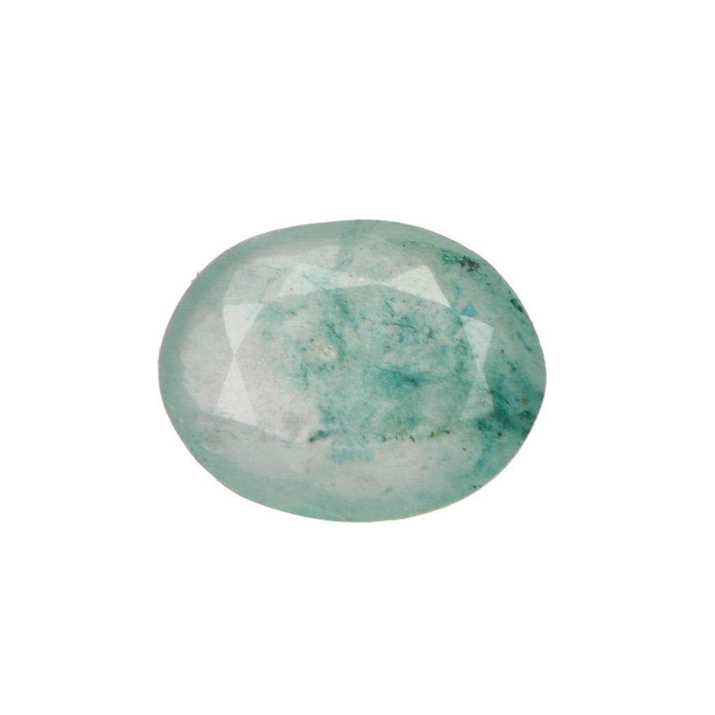 Natural Green Emerald Loose Gemstone, 4.50 Ct. 12 mm EGL Certified Oval Cut Green Emerald Loose Gemstone For Ring LN-569
