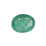 Natural Green Emerald Loose Gemstone, 3.50 Ct. Oval Cut EGL Certified Green Emerald Loose Gemstone For Ring LN-593