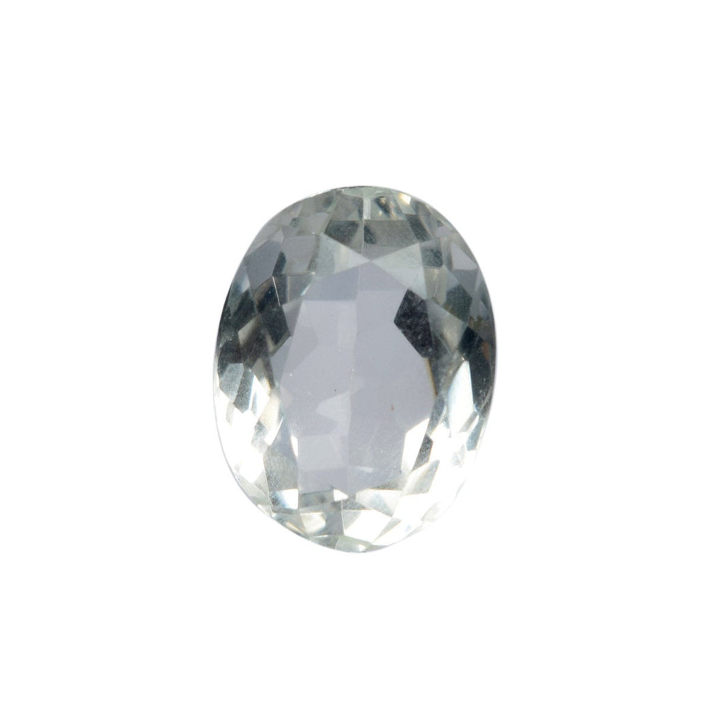 White Topaz for Making Ring, Oval Cut White Topaz Gemstone 13.00 sterling Gemstone, Lab Created Topaz Loose Gemstone for Jewelry B1-145