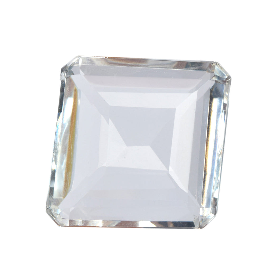 AAA++ White Color Topaz Faceted Emerald Cut Gemstones - Loose Gemstones, Semi Precious Gemstones, Topaz Loose Gemstones, 114.00 CT, B1-123