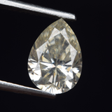 Stunning Pear Cut Colorless Loose Moissanite, Forever One Moissanite for Engagement Ring and Pendant, Sizes Available 0.5ct TO 3.5ct