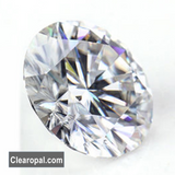 Brilliant Round Cut Loose Moissanite Stone, White Color 1ct TO 3ct Certified Moissanite Stone for Jewelry