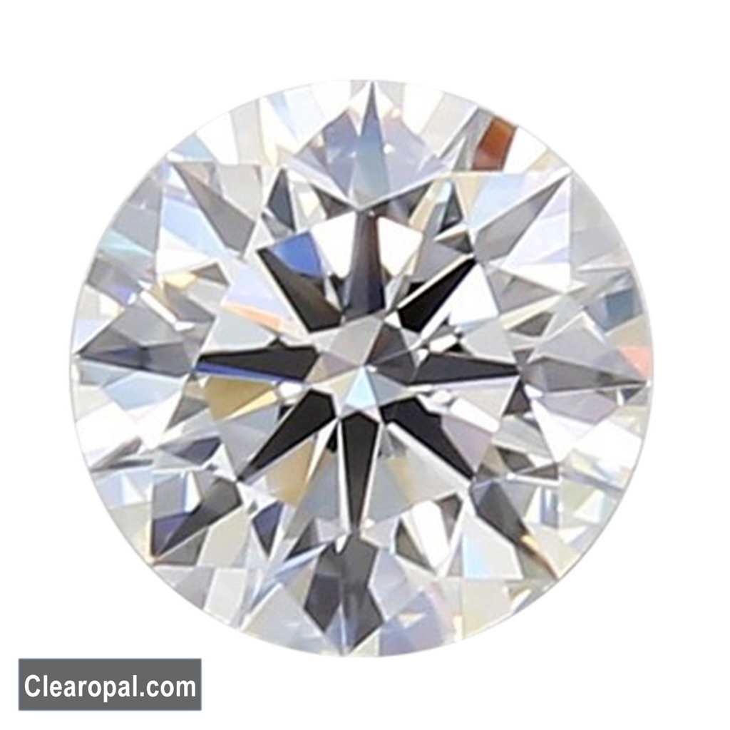 Colorless Good Clarity Loose Moissanite Stone, Round Cut 0.25ct TO 1.00ct Certified Moissanite for Making Ring or Pendant
