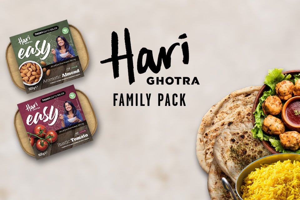 Hari Ghotra Family Pack - Rustic Tomato and Aromatic Almond