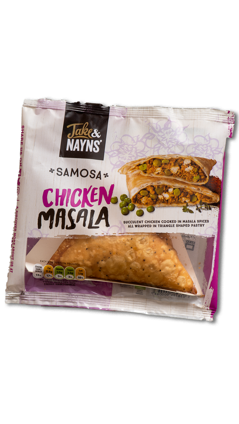 Jake and Nayns Samosa Chicken Masala ❆