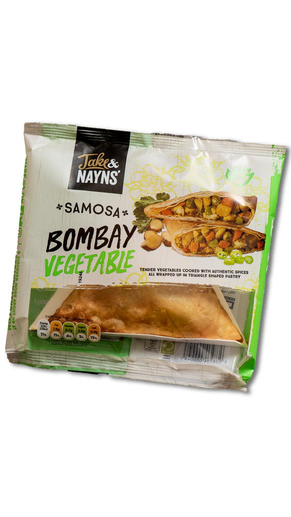 Jake and Nayns Samosa Bombay Vegetable Ⓥ ❆