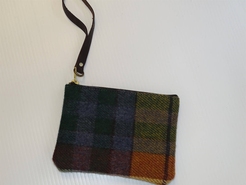 Antique Buchanan Tartan Hannah Clutch Purse