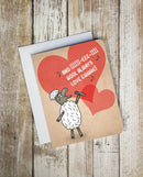 I Wool Always Love Ewe Card