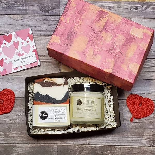 Soap and Candle Gift set with Card