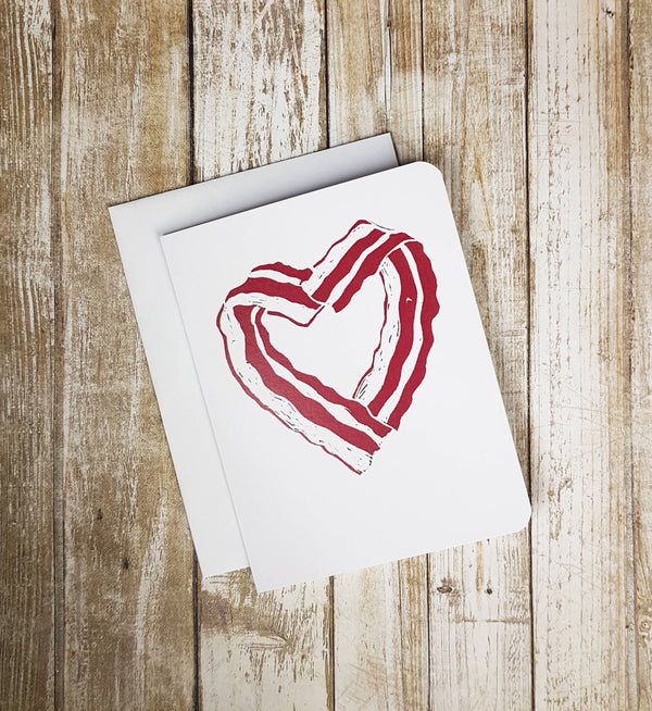 Bacon Heart Card