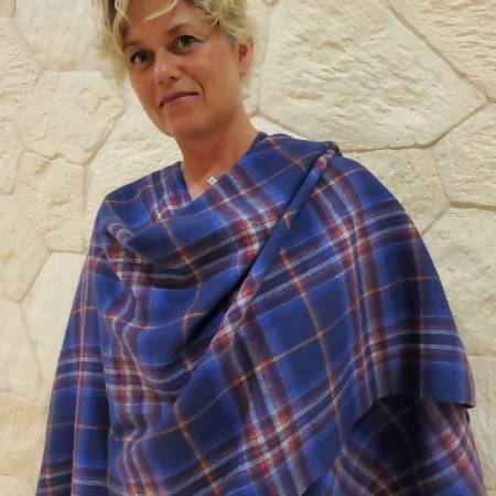 Spirit of Quebec Tartan Stole