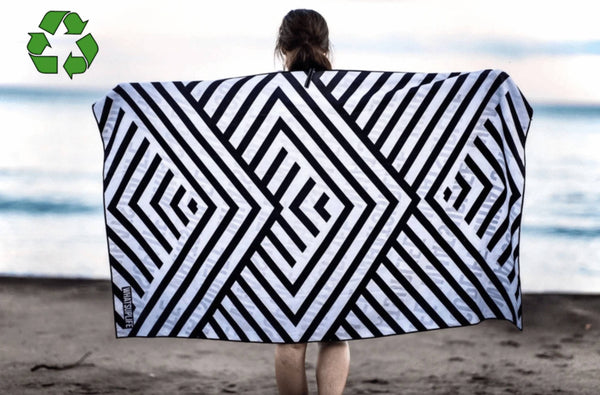 Eco-Friendly Geometric Towel