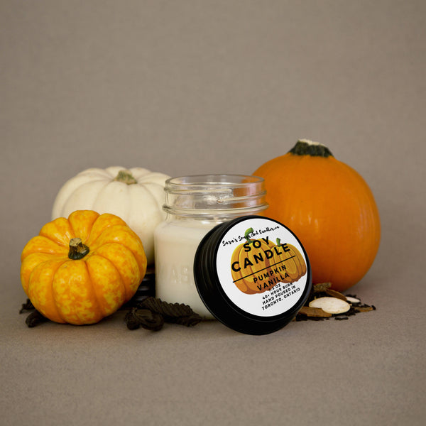 Pumpkin Vanilla Candle - 7.5oz (Small)