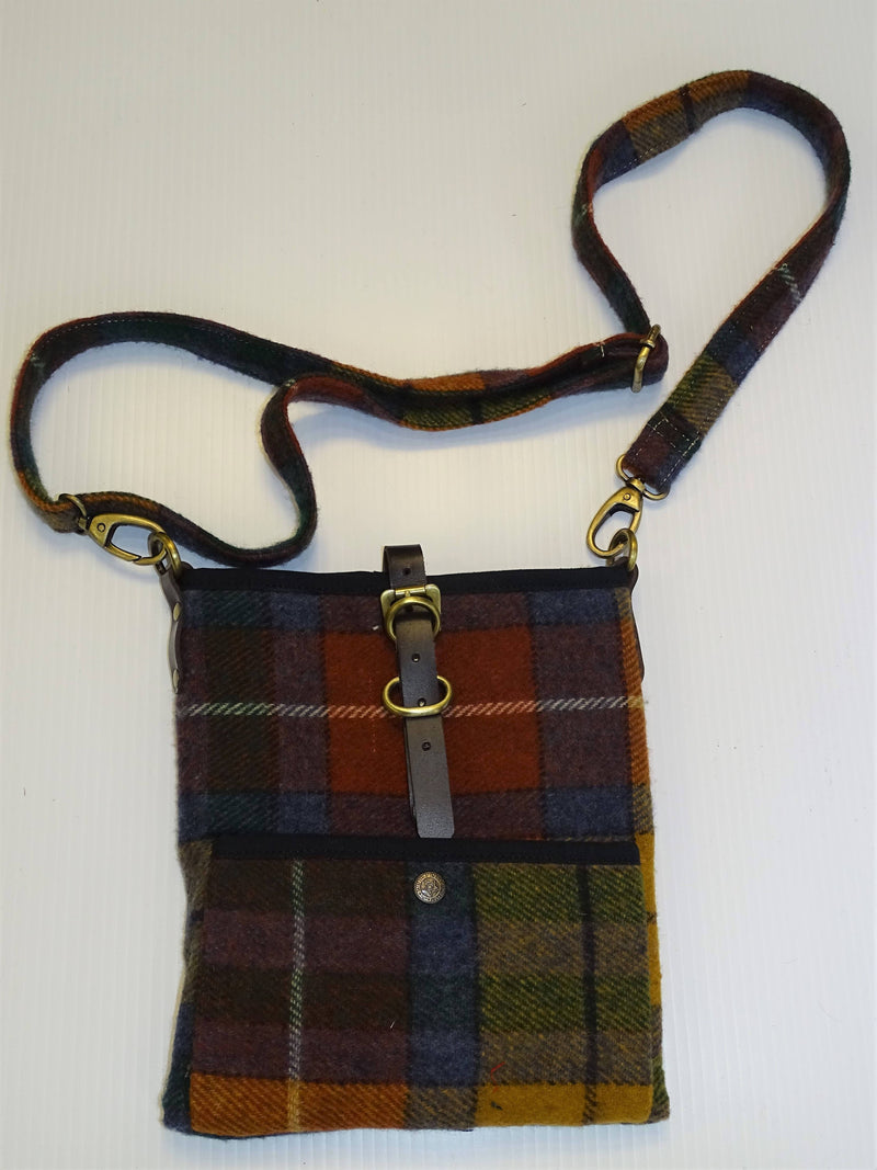 Antique Buchanan Tartan Islay Wool Cross Body bag