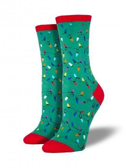 Socksmith Ladies Christmas Lights Graphic Socks