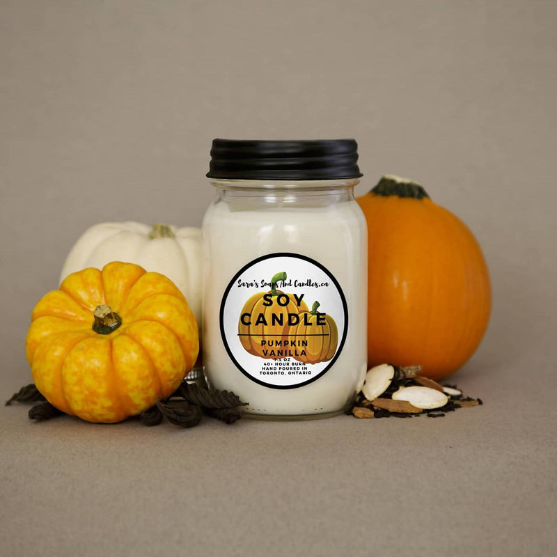 Pumpkin Vanilla Candle - 14oz (Large)