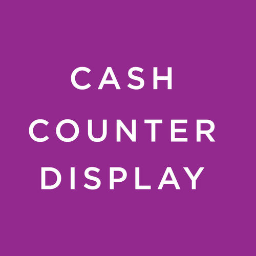 Cash Counter Display
