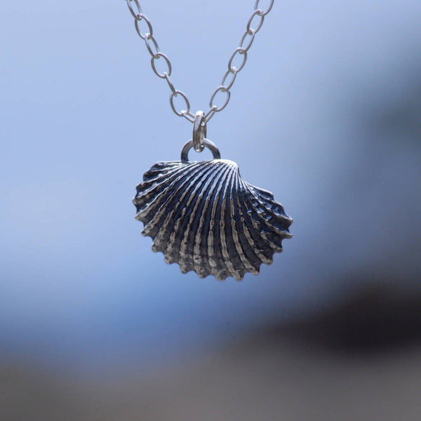 Cockle Shell Pendant - Large