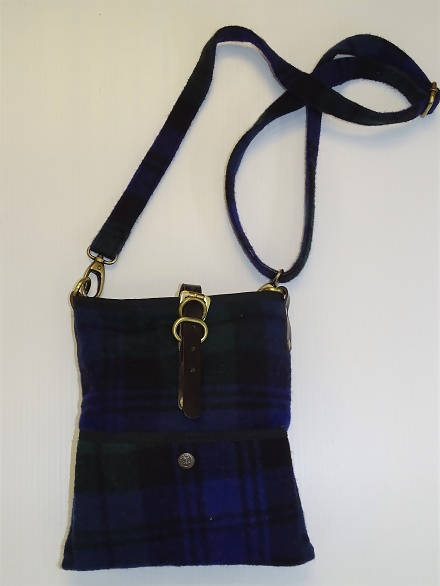 Black Watch Tartan Islay Cross Body Bag