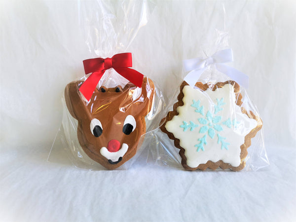 "5"" Gingerbread Decorated Cookies"