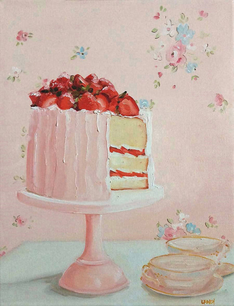 Strawberry Afternoon - Fine Art Print