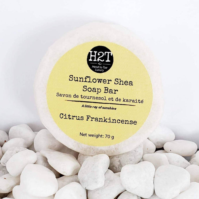 Sunflower Aloe Shea | Sunflower Shea Soap Bar