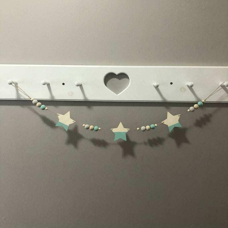 Star Nursery Garland 34""