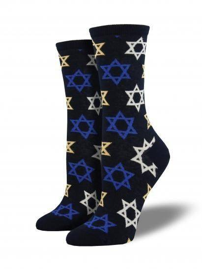 Socksmith Ladies Star Of David Graphic Socks
