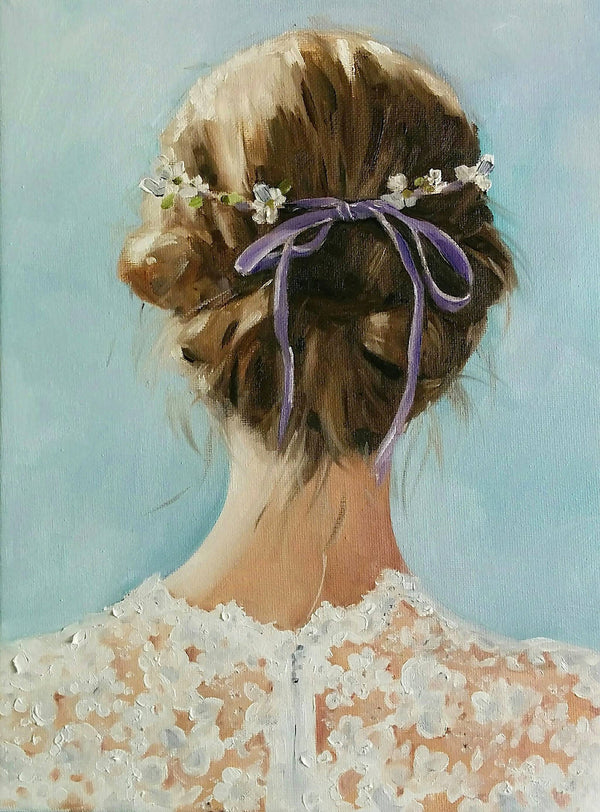 The Lavender Girl - Fine Art Print
