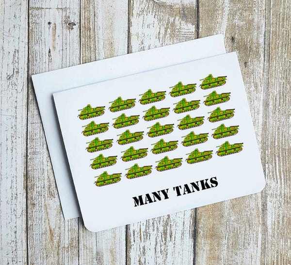Many Tanks Card