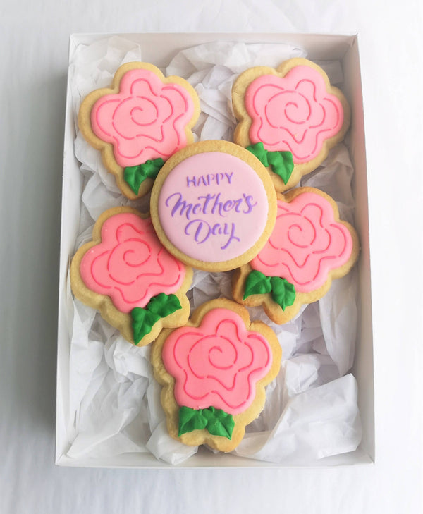 "Mother's Day Cookie Giftbox - ""Happy Mother's Day"
