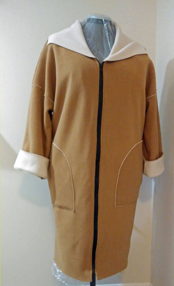 Double Sided Fleece coat