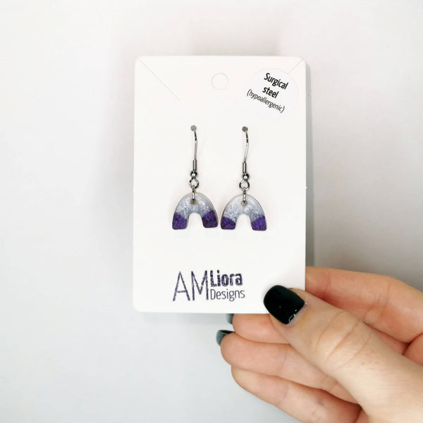 Hypoallergenic Mica Hook Earrings
