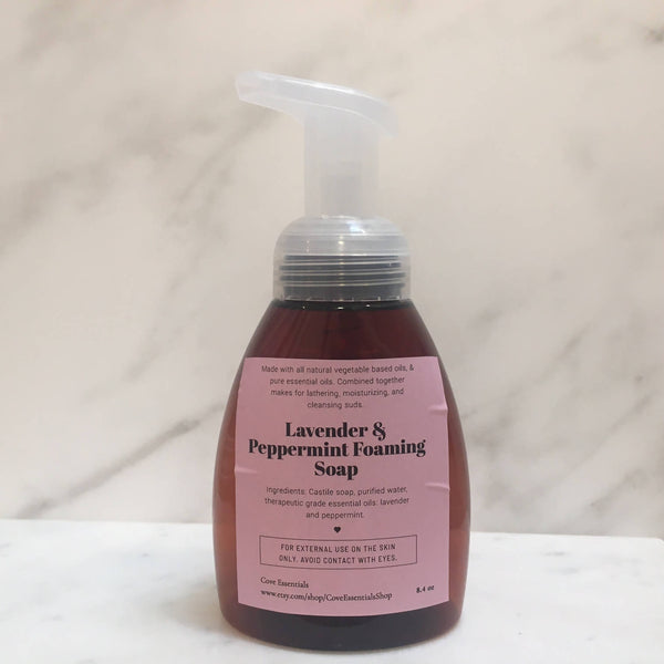 Lavender & Peppermint Foaming Hand Soap - 8.4oz