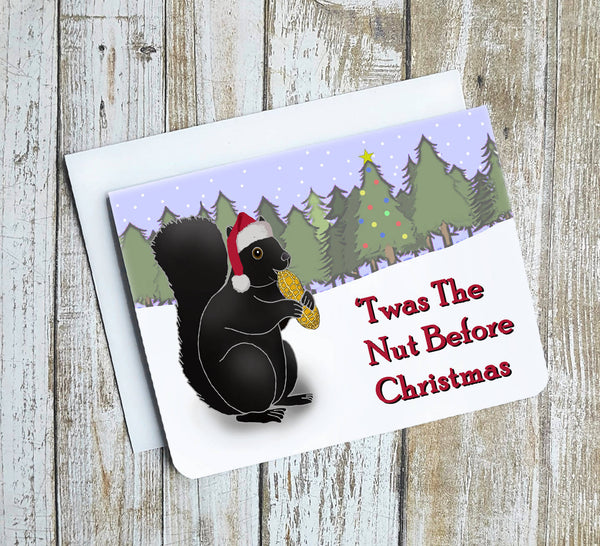 Twas The Nut Before Christmas Card