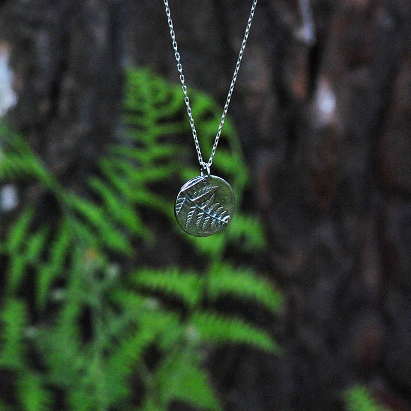 Fern Circle Necklace